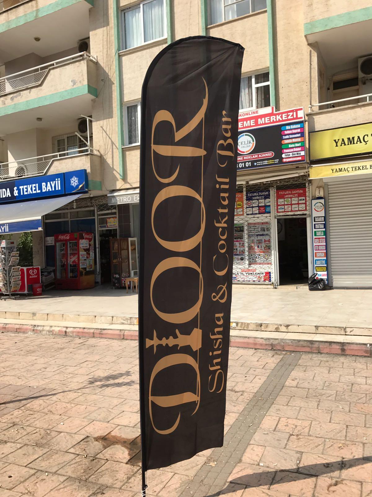 nargile cafe  yelken bayrak
