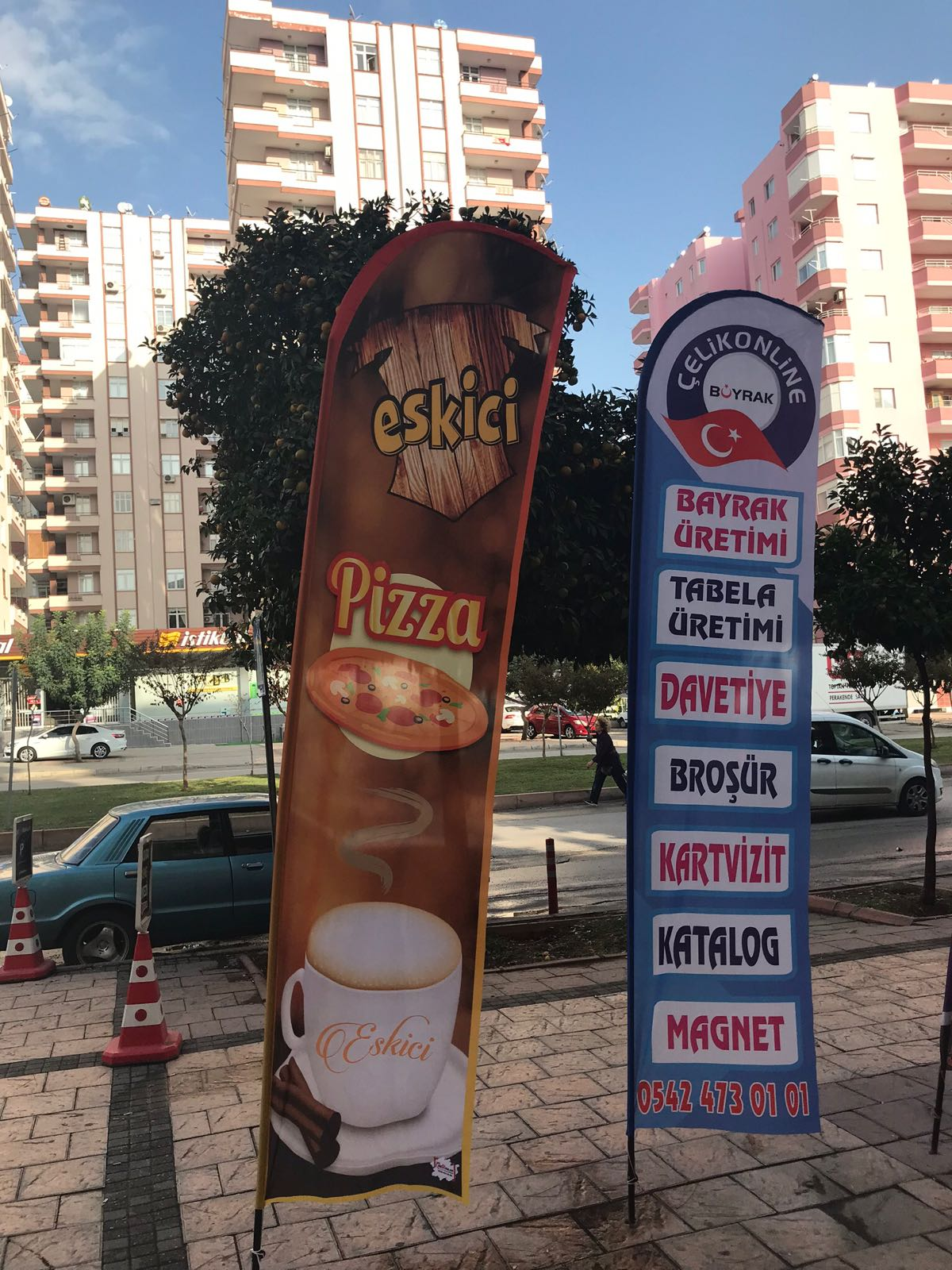 pizzaci  yelken bayrak