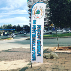 belediye  yelken bayrak