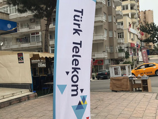 Türk Telekom Yelken Bayrak Üretimi