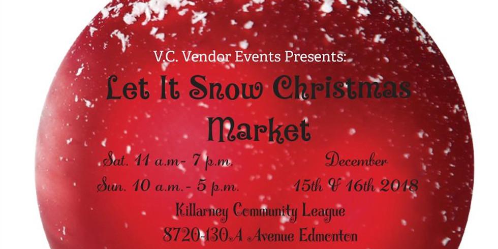 Let it Snow Christmas Market