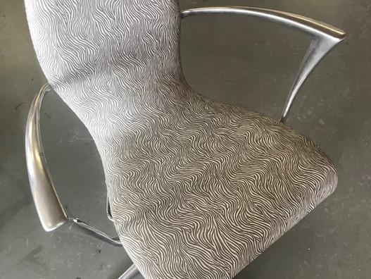chaise zebre