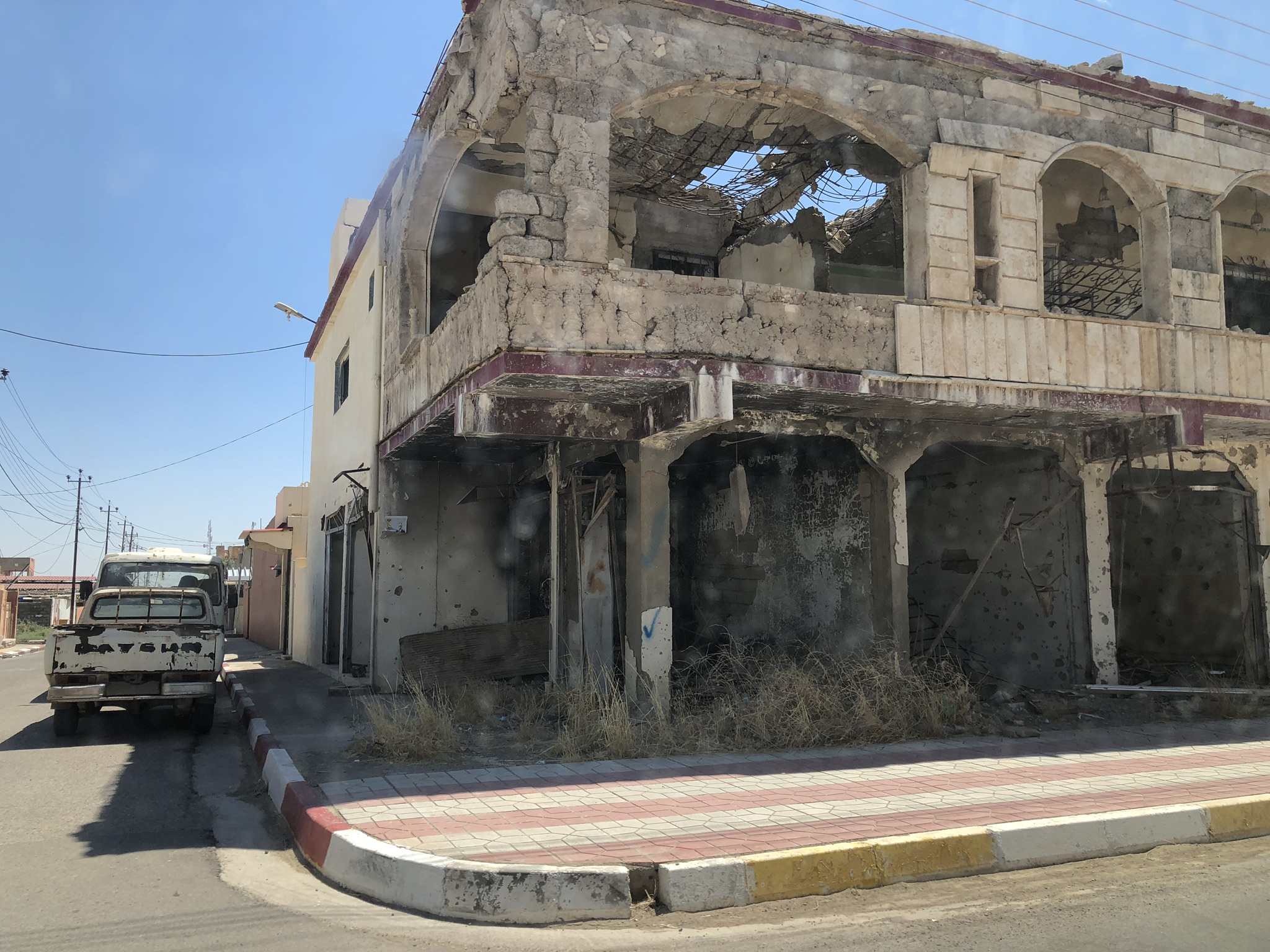 ISIS Damage Teleskof
