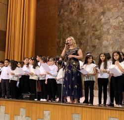 Joanna & MQS Choir