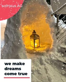 Werbevideo 4 - we make dreams come true.