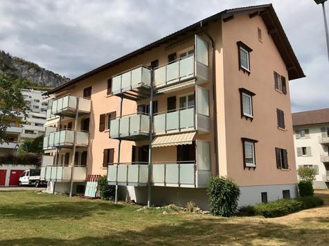 24. Balkonerweiterungen MFH Solothurnstrasse Oensingen