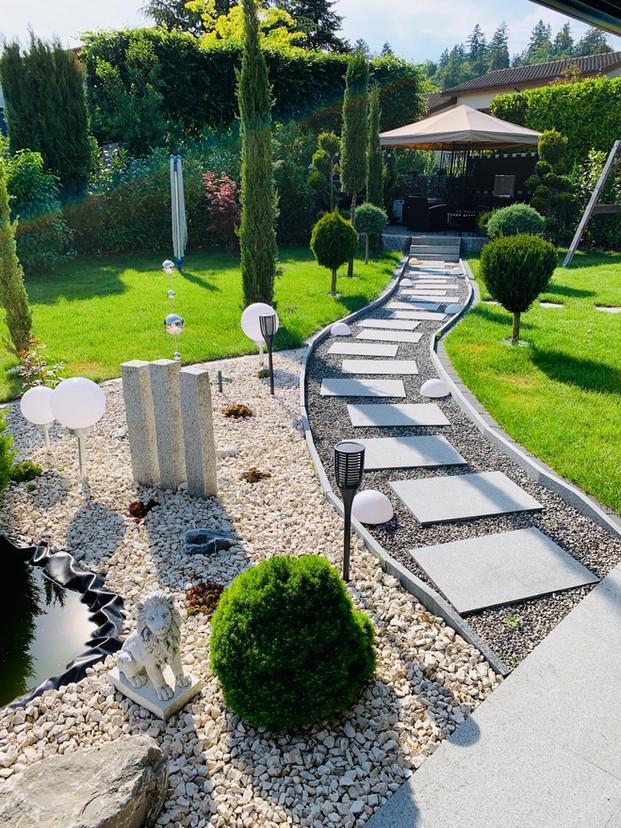 46. Gartengestaltung Villa Lohn-A'segg