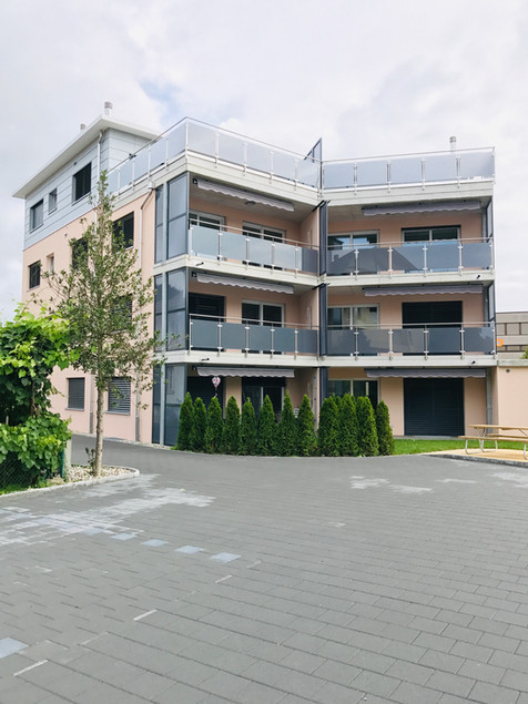 29. Gartenseite Gebäude Hauptstrasse Gerlafingen