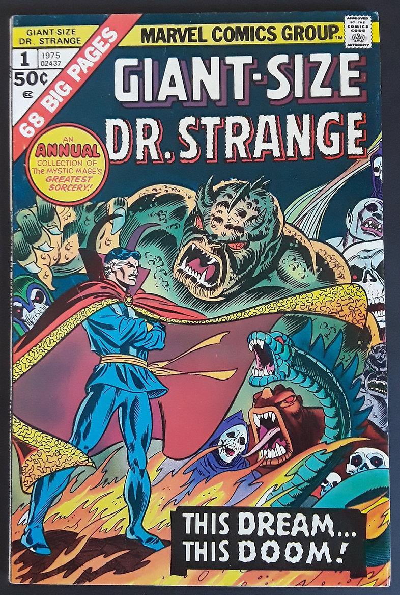 Giant Sized Dr Strange No 1 1975 Front.j