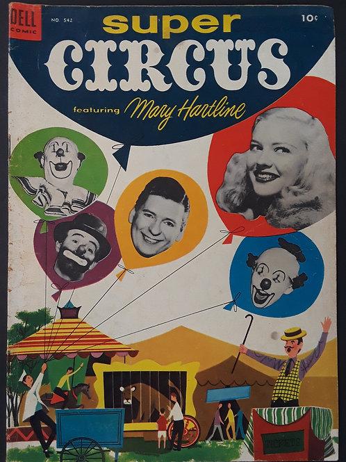 Four Color #542 Super Circus