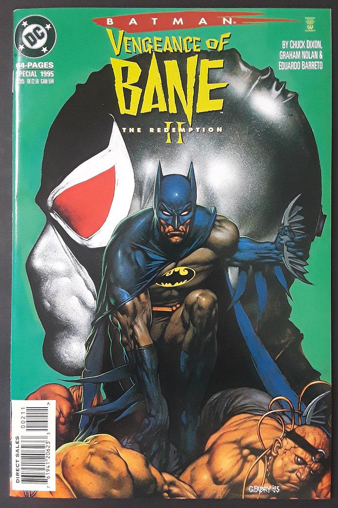 Batman Vengeance of Bane II 1995 Front.j