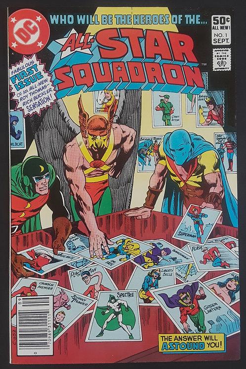All Star Squadron #1