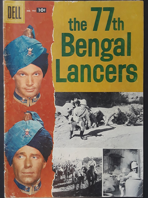 Four Color #791 The 77th Bengal Lancers