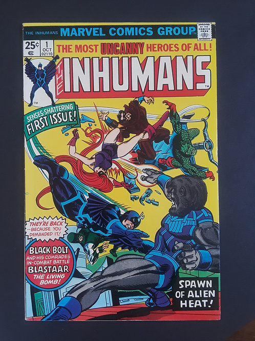 The Inhumans #1