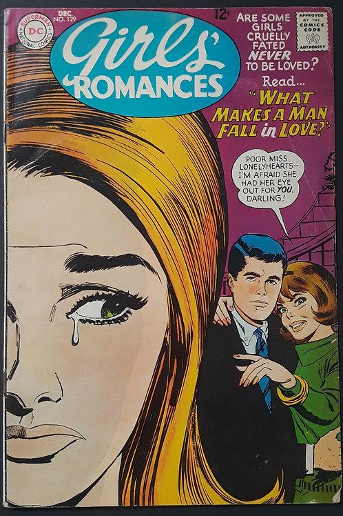 Girls Romances #129