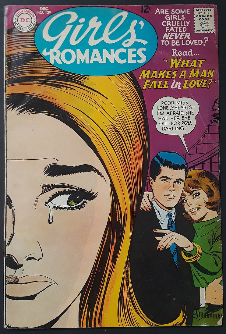 Girls Romances 129 1967 Front.jpg
