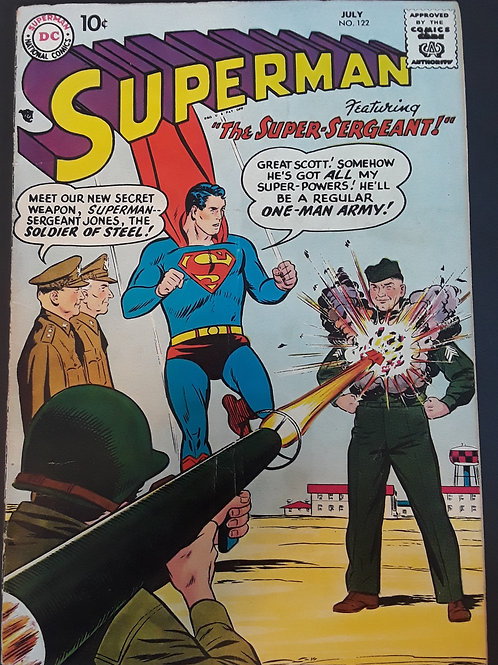 Superman #122