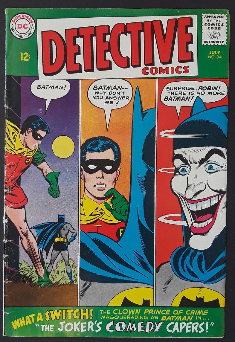 Detective Comics 341 1965 Front.jpg