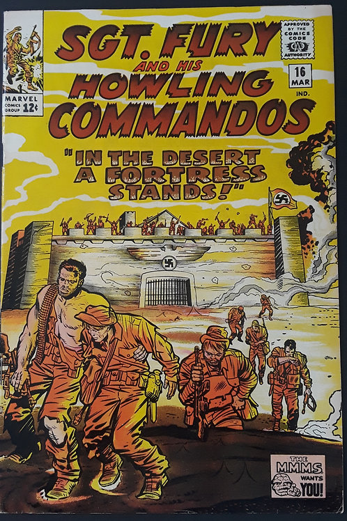 Sgt Fury and His Howling Commandos #16