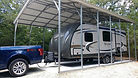 24'x31' Vertical Roof RV Cover