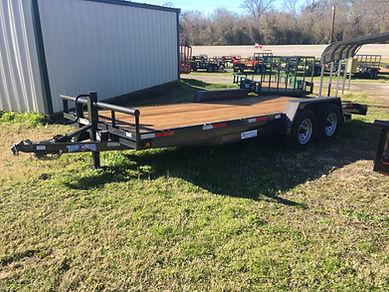 20' Heavy Vehicle / equipment hauler