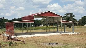 46'x21' Texas A Frame Barn