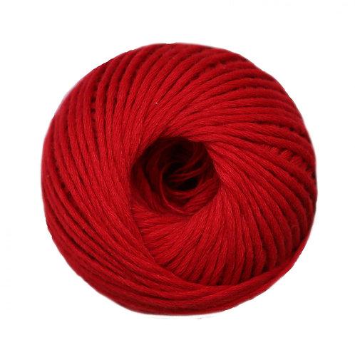 Algodón peinado L Rojo