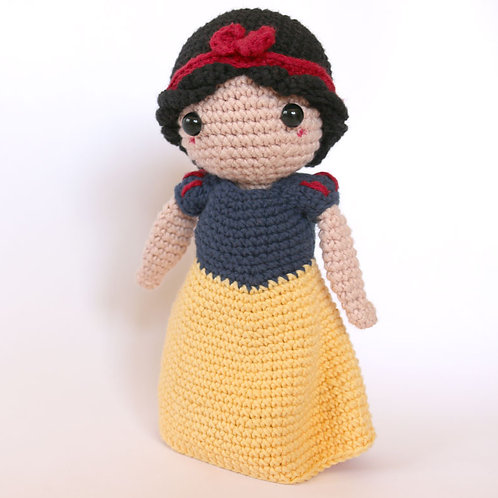 Kit Amigurumi Blancanieves