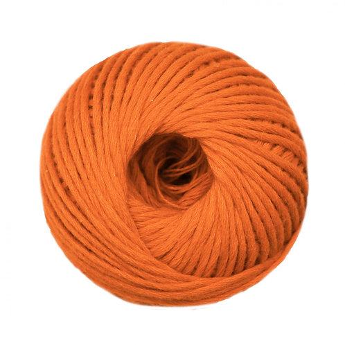 Algodón peinado L Naranja