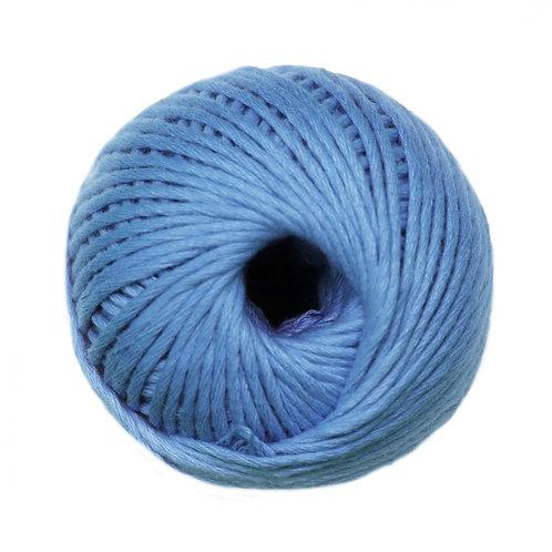 Algodón peinado L Azul Acero