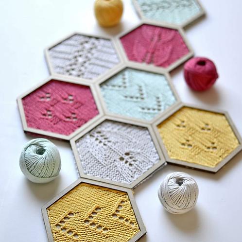 Kit Honey de Punto de @pearlknitter