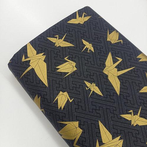 Grullas doradas negro