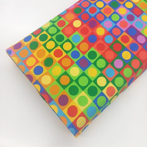 Cuadrados y Redondas de colores