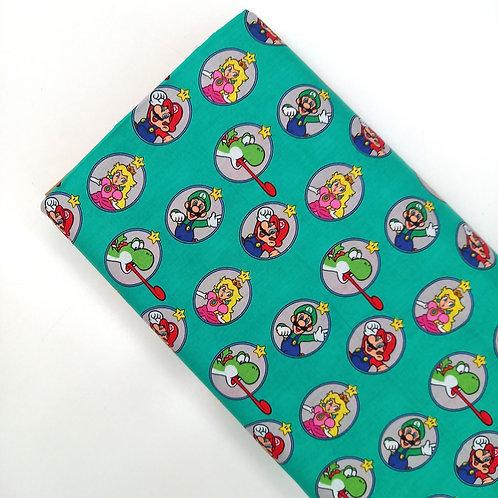 Mario, Luigi, Yoshi y Peach