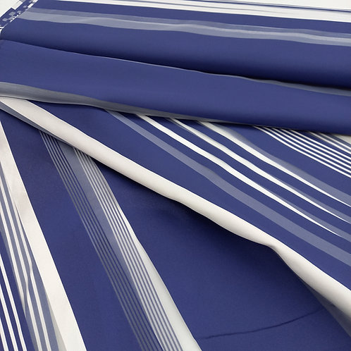 Mikado de rayas azules