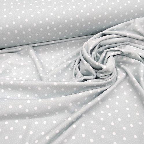 Topo blanco fondo gris