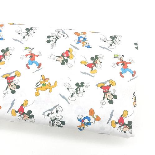 Mickey, Pluto, Donald y Goofy