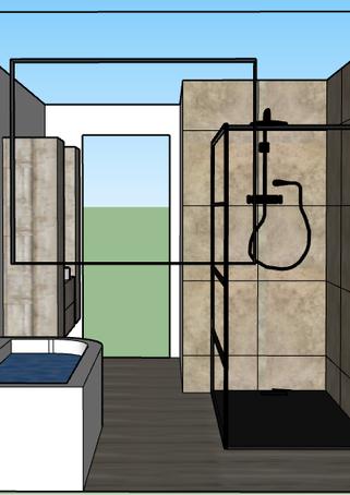 Retro badkamer design Tongeren