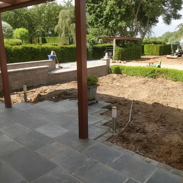 OPFRISSING TUIN HALLE-BOOIENHOVEN
