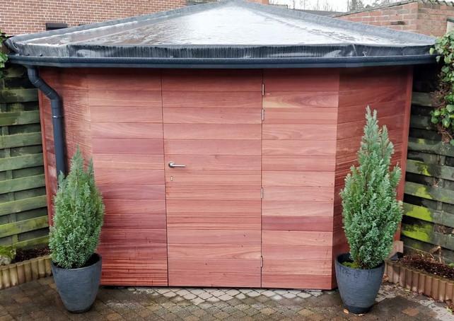 Kwaliteitsvol tuinhuis