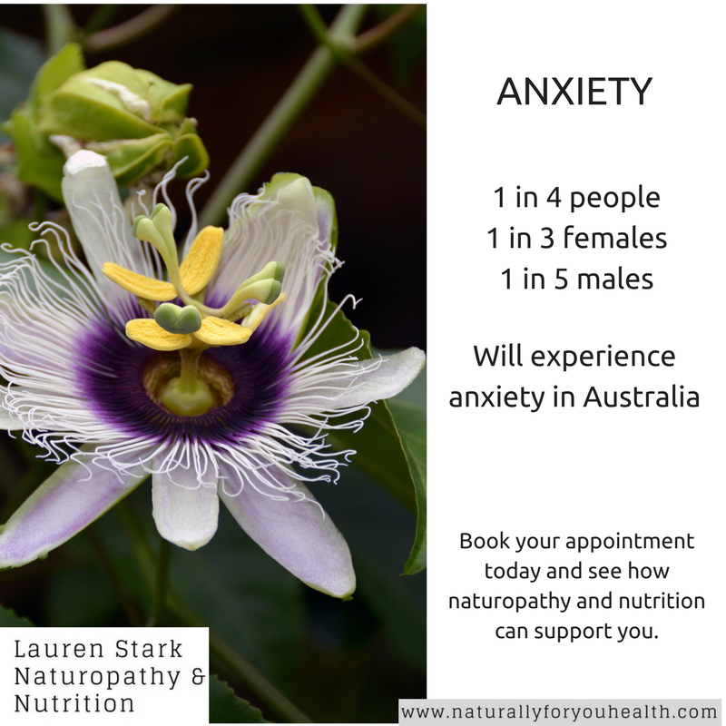 How can I reduce anxiety Lauren Stark Naturopathy