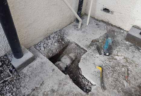 Underground Salt Glaze joint