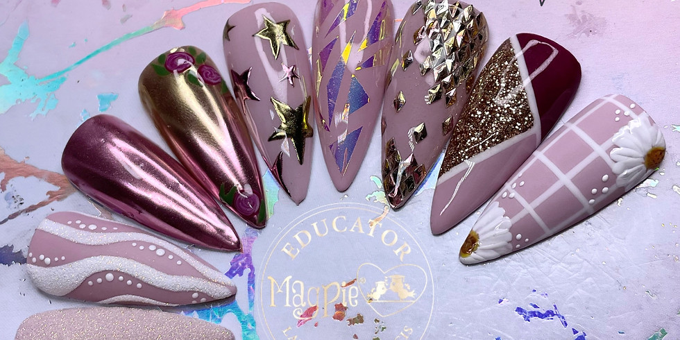 Magpie Silver Nail Art Masterclass - YOU MUST BE QUALIFIED IN GEL POLISH TO ATTEND
