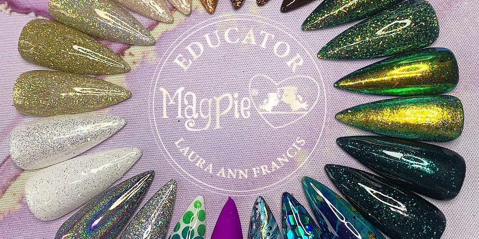 Magpie Bronze Nail Art Masterclass - YOU MUST BE QUALIFIED IN GEL POLISH TO ATTEND