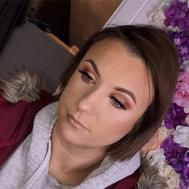 Natural glam today for Sarah 💗😍
