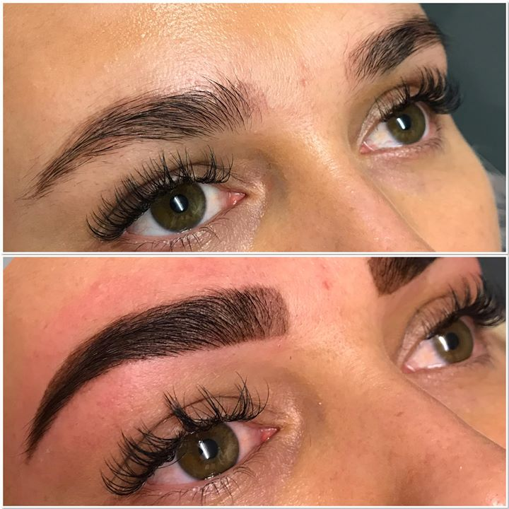 Before & After 🤩😍_Beautiful Henna Brow