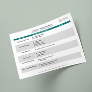 Prevention Principles Assessment