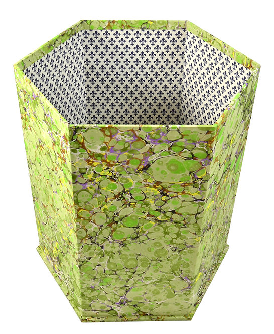 Hexagonal Waste Paper Basket