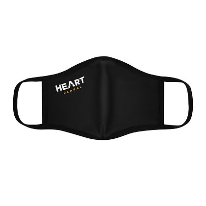 ⭐️ HEART Global Fitted Face Mask - BLACK