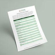 Community Element Inventory Worksheet